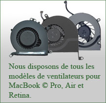 Stock de ventilateurs
