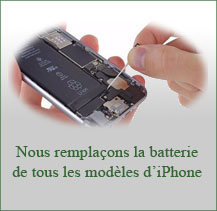 Changement batterie iPhone