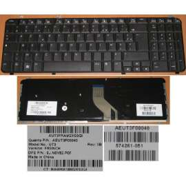 Clavier HP  DV6-1000 AZERTY MP-08A96-9201
