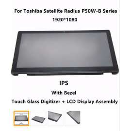 "Module COMPLET Dalle ecran tactile 15.6"" Toshiba Satellite P55W"