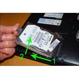 CHANGEMENT Disque dur interne 1TO avec installation Systeme