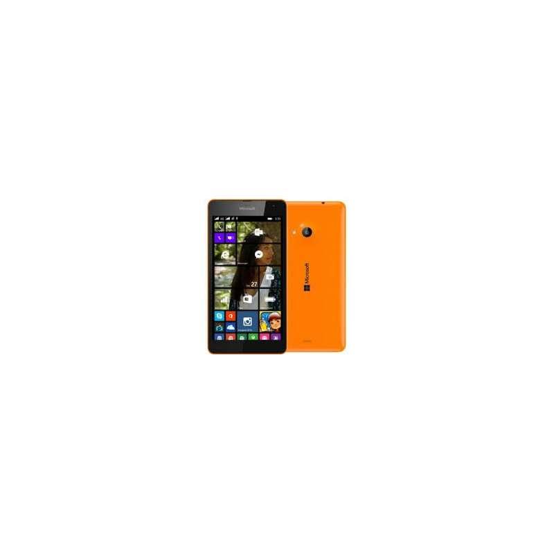 microsoft lumia 535 dual sim orange. Black Bedroom Furniture Sets. Home Design Ideas