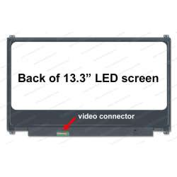 Ecran ordinateur portable LED 13.3 FHD