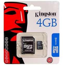 Carte Micro SD 4GB Kingston