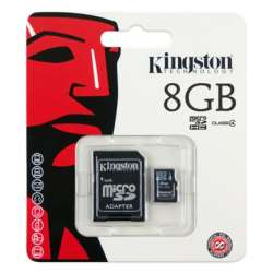 Carte Micro SD 8GB Kingston