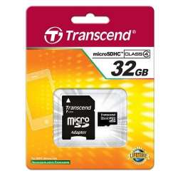 Carte Micro SD 32GB Transcend
