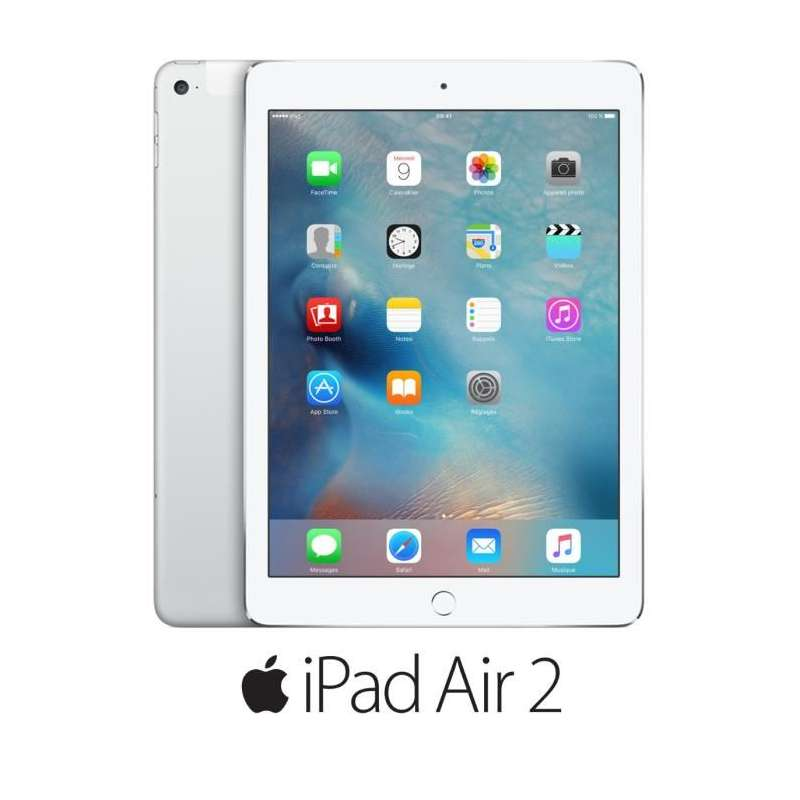 tablette apple ipad air 2 4g 16 go silver occasion. Black Bedroom Furniture Sets. Home Design Ideas