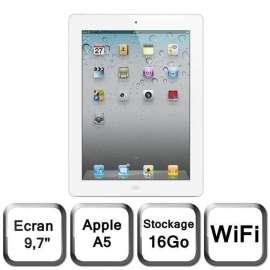 iPad Air 2 Wi-Fi 16 Go reconditionné - Blanc