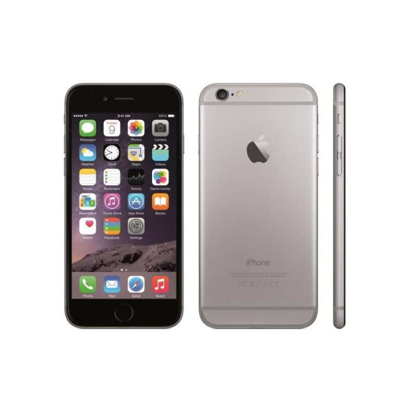smartphone apple iphone 6 noir 64 go a1586 space grey reconditionne. Black Bedroom Furniture Sets. Home Design Ideas