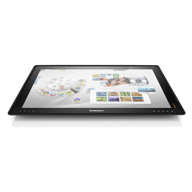 lenovo horizon ordinateur tout en un tactile 27 noir jardin internet. Black Bedroom Furniture Sets. Home Design Ideas