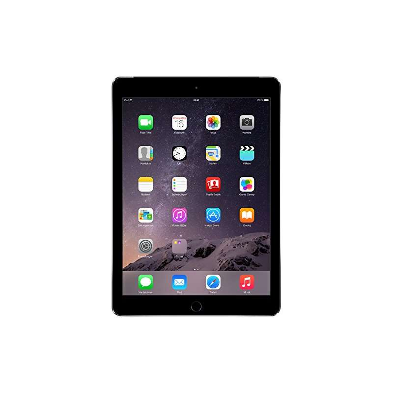 tablette apple ipad air 2 16 go gris sideral. Black Bedroom Furniture Sets. Home Design Ideas