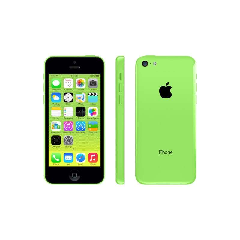 apple iphone 5c smartphone 4g 16 go 4 retina jardin. Black Bedroom Furniture Sets. Home Design Ideas