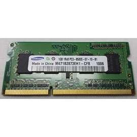 1Go RAM PC Portable SODIMM Samsung M471B2873EH1-CF8 PC3-8500S 1066MHz DDR3