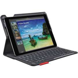Logitech Étui Clavier Bluetooth pour iPad Air 2  Type +  AZERTY, Noir
