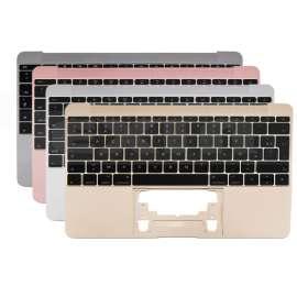 Topcase avec clavier US/UK QWERTY pour MacBook 12 pouces A1534 de 2015