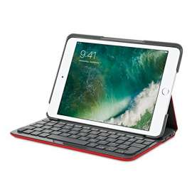 CLAVIER Etui iPad mini1, 2, 3 Logitech CANVAS ROUGE