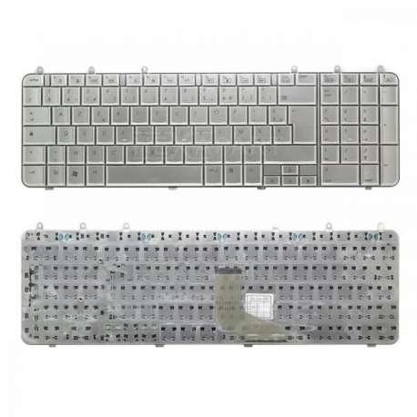 Clavier AZERTY  HP DV7-1000 Silver