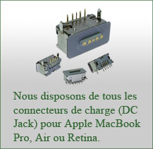 changement dc jack MacBook Air Pro
