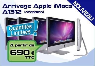 Arrivage iMacs A1312