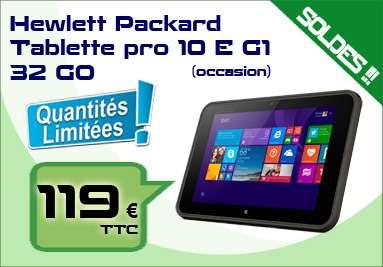 Tablette HP Pro 10 EE-G1